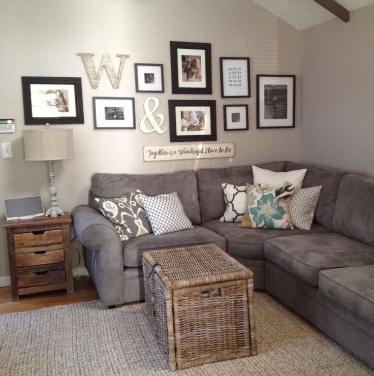 Good living room storage. Homely