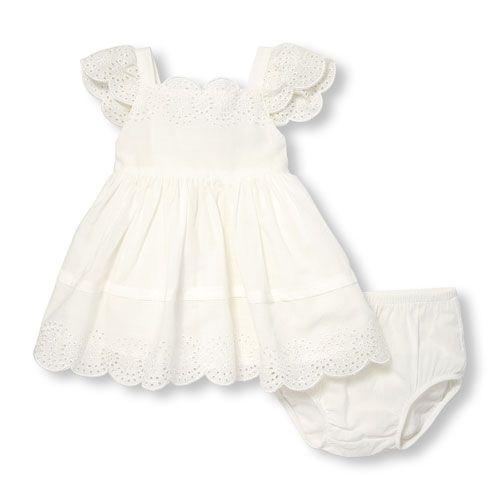 The Childrens Place Baby Girls Sleeveless Printed Tutu Bloomer Dress Set