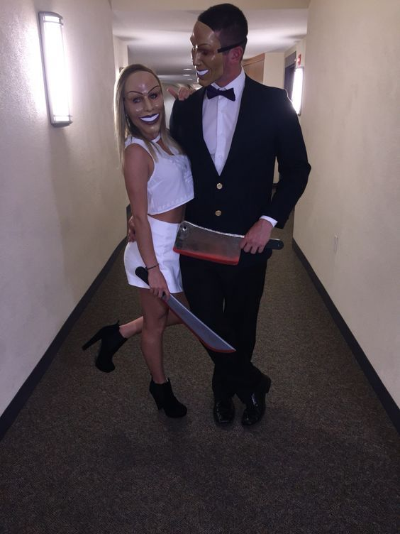 Top 16 Cool Halloween Couples Costume Designs – Unique Easy Holiday Party Project - Way To Be Happy (4)