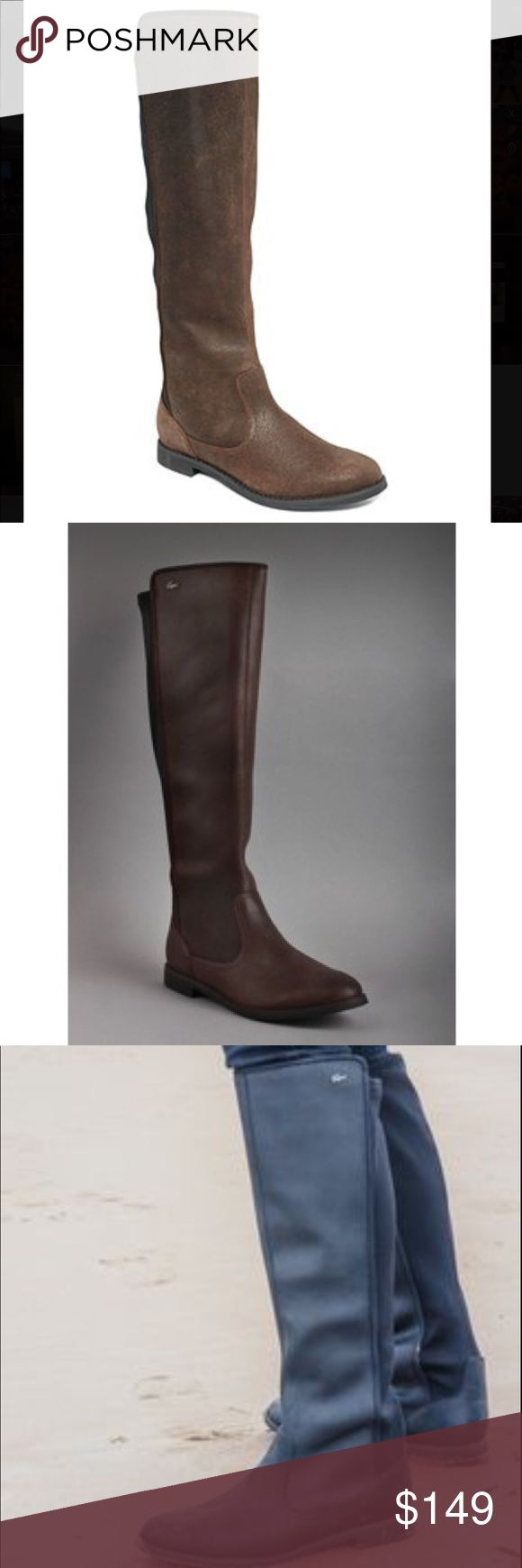 Lacoste Rosemont Boots Lacoste Rosemont 5 CLW below the knee boots! I was so excited to get these and they were my favorite go to boot for the entire fall/winter season. Perfect heel height for everyday wear! I promise you will be in love!! They are also in great used condition! Exact color of boot is closest to photos 1 🌵i LOVE offers!                                                                        🌵bundle and save 15% 🌵shipped from a smoke/pet free home…