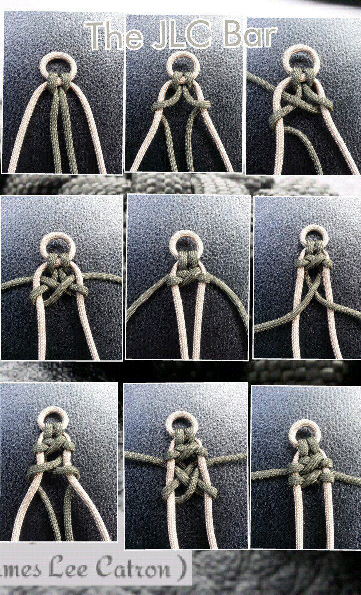 mode : Bracelet tressé à large corde. Nouage facile à faire
