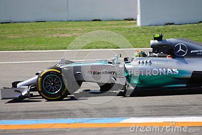 F1 Photo Formula One Mercedes Car : Nico Rosberg
