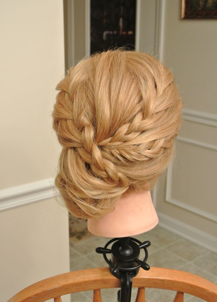 Formal hair, wedding hair, updo, bridesmaid hair, prom hair Hair by Christy: Simply Captivating On-Site Beauty Services, PGH, PA Follow me on FB!