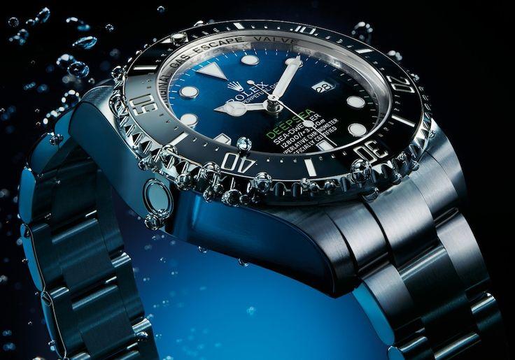 rolex deep sea dweller blue   Rolex Deepsea Sea Dweller D Blue Dial Watch Is Tribute To James ...