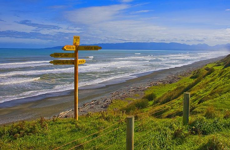 On the coast, south of Tuatapere, see more, learn more, at New Zealand Journeys app for iPad www.gopix.co.nz