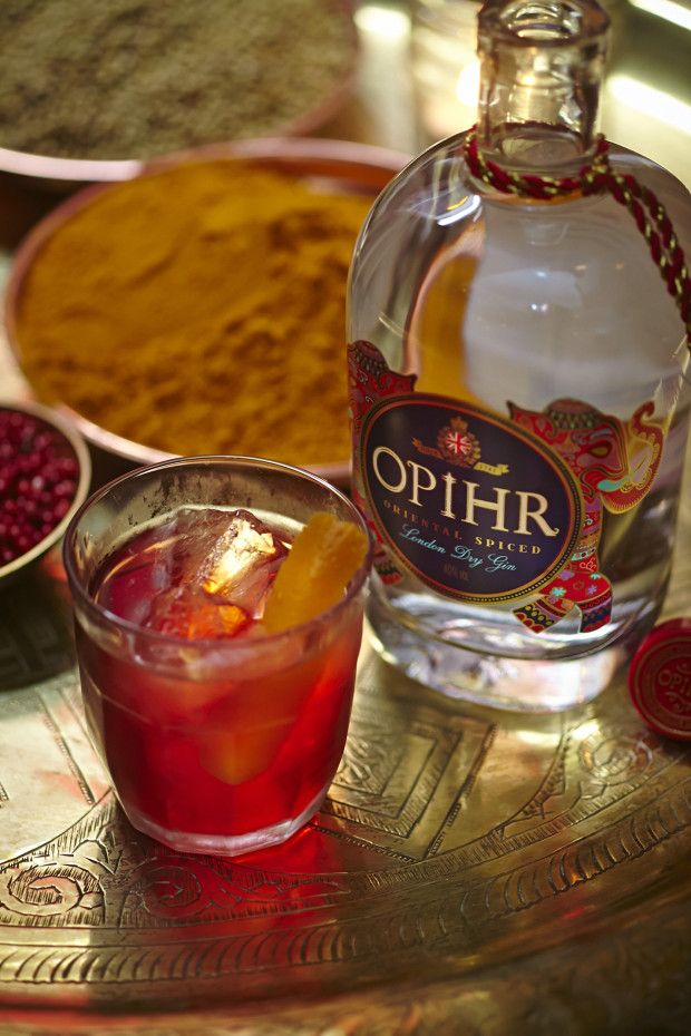Three Kings // opihr oriental spiced gin, dubonnet, aperol, chilli, orange