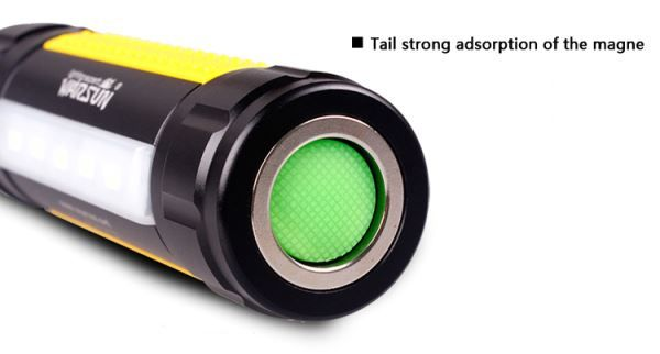 Warsun H006 3-Mode Mini Outdoor White LED Flashlight w/ Magnet Ring - Free Shipping - DealExtreme
