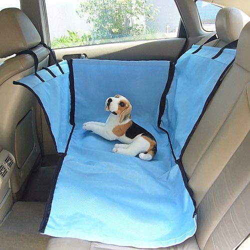 Gato Perro Cobertor de Asiento Para Coche Mascotas Cestas Un Color Beige Azul 2017 - $480.9
