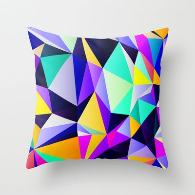 Geometric No. 12 Throw Pillow by House of Jennifer - $20.00