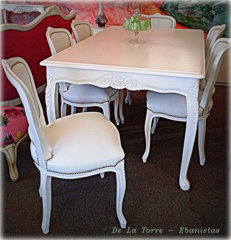 Las 25 mejores ideas sobre muebles luis xv en pinterest - Muebles antiguos de comedor ...