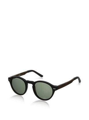 69% OFF Ivory + Mason Men's Robertson Sunglasses, Matte Black/Walnut