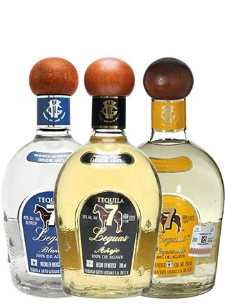 Tequila 7 Leguas Blanco, Reposado & Añejo | @Caskers Distilled twice through copper pot stills, these tequilas pay homage to Mexico's rebellious spirit.