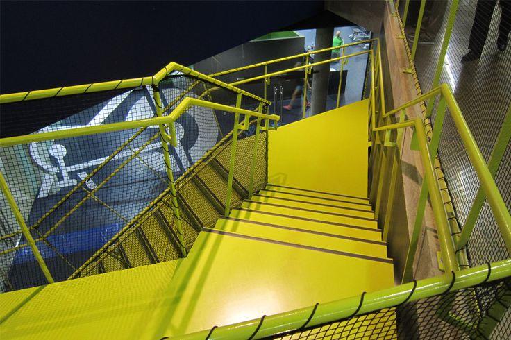 Institute National of Sport – Canada / Kayar flooring https://www.pinterest.com/artigo_flooring/kayar/