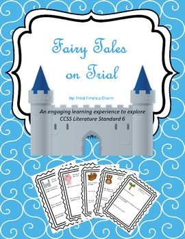 Fairy Tales on Trial (Fractured Fairy Tales & Point of View)-NEXT YEAR-Gilliland
