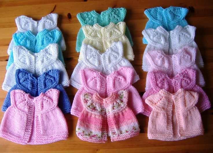 Premature baby tops and hats