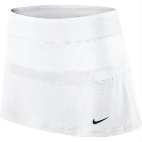 Nike White Tennis Skirt White Tennis Skirt. NWT Never Worn Nike Skirts Mini