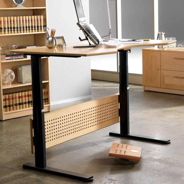 Sit To Stand Desk by Relax The Back®: If you have back problems, or a hard time sitting for prolonged periods at work, then a Stand Up Desk may be the answer.  http://www.relaxtheback.com/office/the-stand-up-desk/sit-or-stand-desk.html