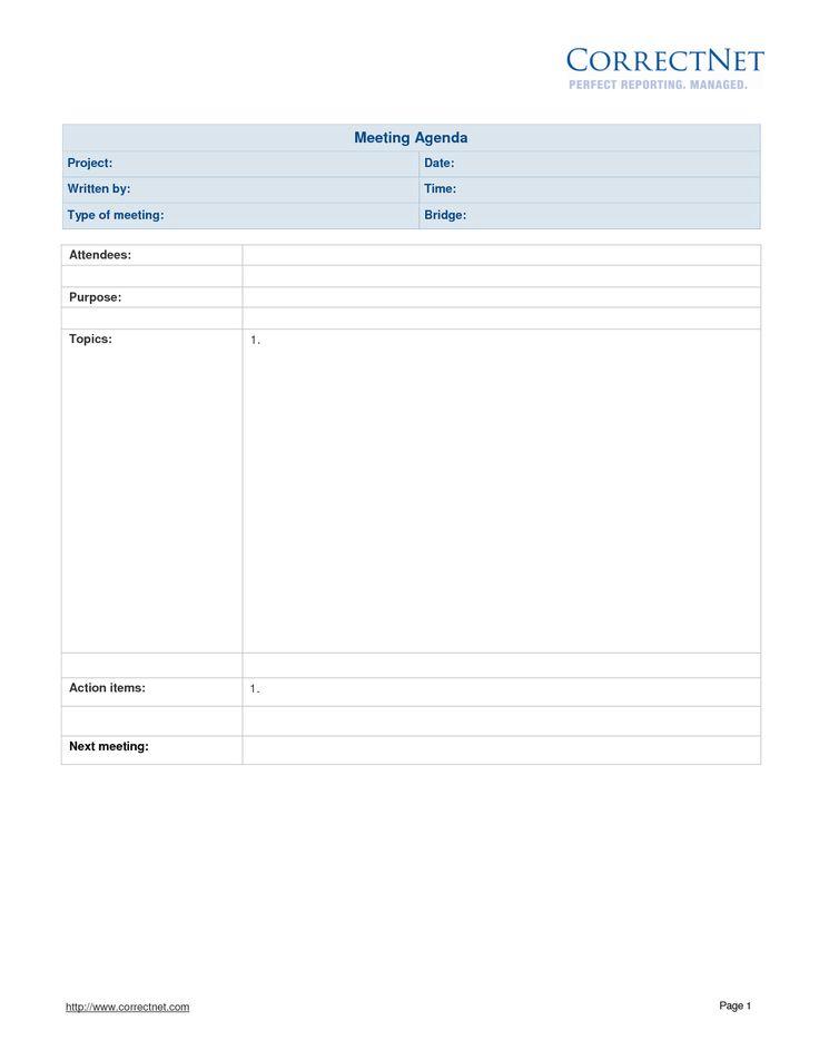 Ponad 25 najlepszych pomysłów na Pintereście na temat Excel - meeting agenda sample in word