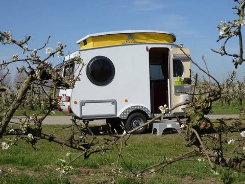 Man Builds His Own Expandable Lightweight Micro Camper