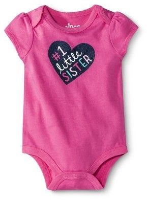 Circo® Newborn Girls' Bodysuits - Pink