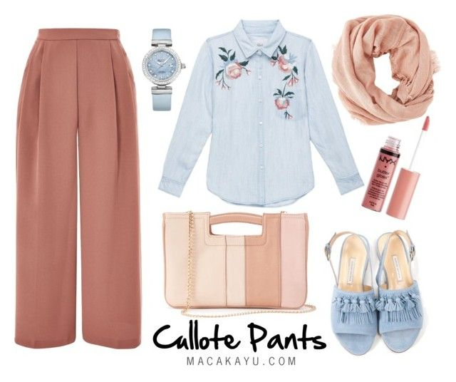 """CULLOTE PANTS"" by noviana-ayu-wulandari on Polyvore featuring Topshop, Rails, Bionda Castana, Charlotte Russe, LC Lauren Conrad and OMEGA"
