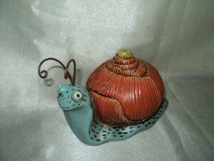 Cartoon slak vorm tuin dier standbeelden gazon ornamenten - kwaliteit Tuin Animal Beelden te koop