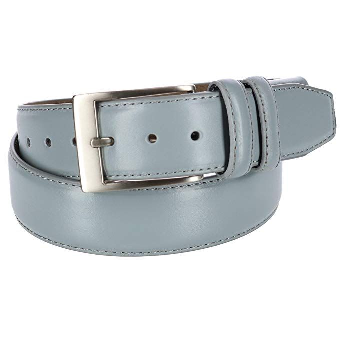 PGA TOUR Mens Leather with Stretch at Buckle