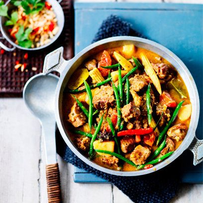 Lamb Massaman curry | Curry recipes | Red Online