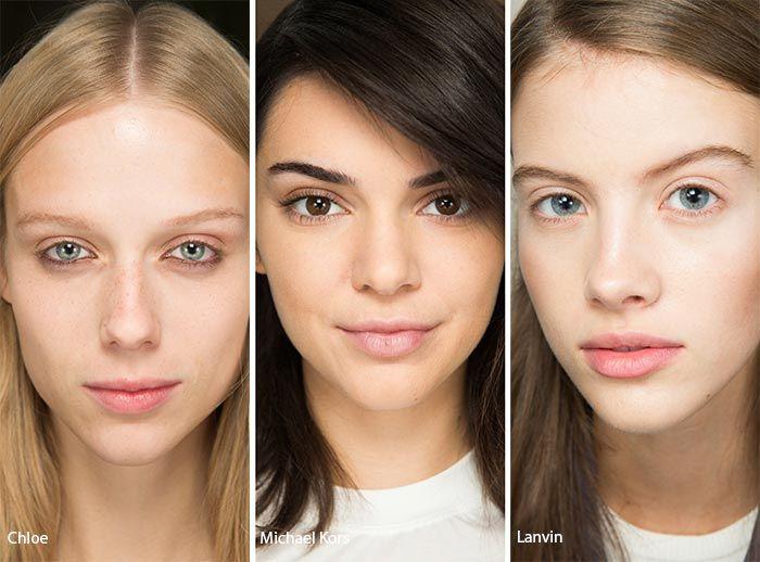 Spring/ Summer 2017 Makeup Trends: No Makeup Makeup