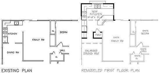Home Addition Floor Plans