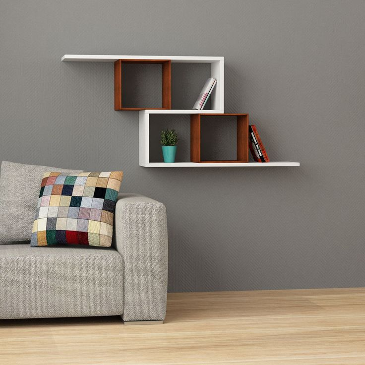 Sleek and elegant, this shelf boasts a brilliant two-tone design that would look fabulous in any home. Featuring 4 cubby-holes and shelving.