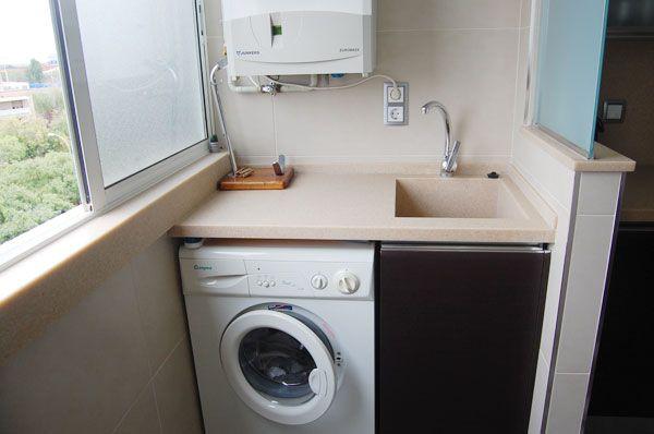 Mejores 15 im genes de cocina en casa decor 214 en for Cocina y lavadero integrados
