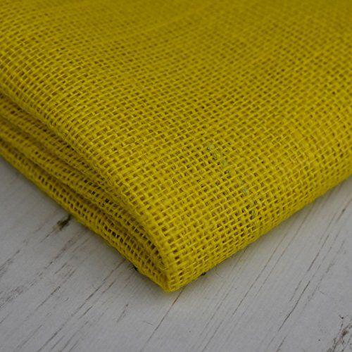 "36"" Wide Soft Hessian Jute Burlap Yellow Fabric Cloth - E... https://www.amazon.co.uk/dp/B06WRNWVHX/ref=cm_sw_r_pi_dp_x_kI63ybCEW0QNV"
