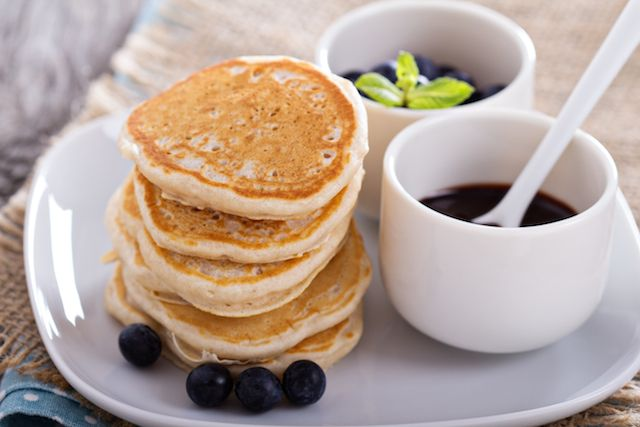 Gluten Free Coconut and Oat Flour Pancakes Photo