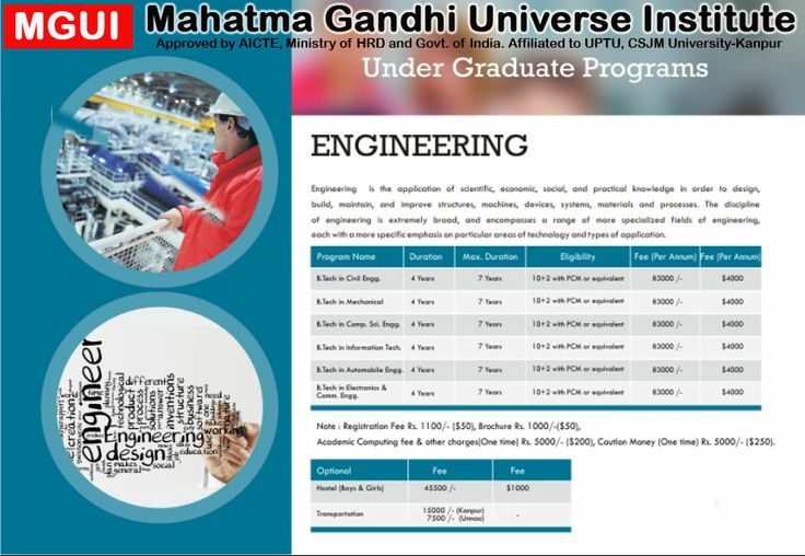 MGUI Lucknow offers BTECH Programes  as Bachelor in Technology is one of the field that has huge opportunities all over the world. For more information visit online-  http://www.ddit-mgui.com/