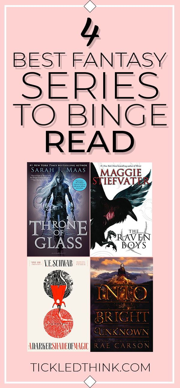 4 Best fantasy series books that you should start binge reading today!