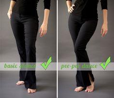 Megan DiPiero Photography {Posing Secrets of the Red Carpet} pee-pee dance! So easy and so fun!