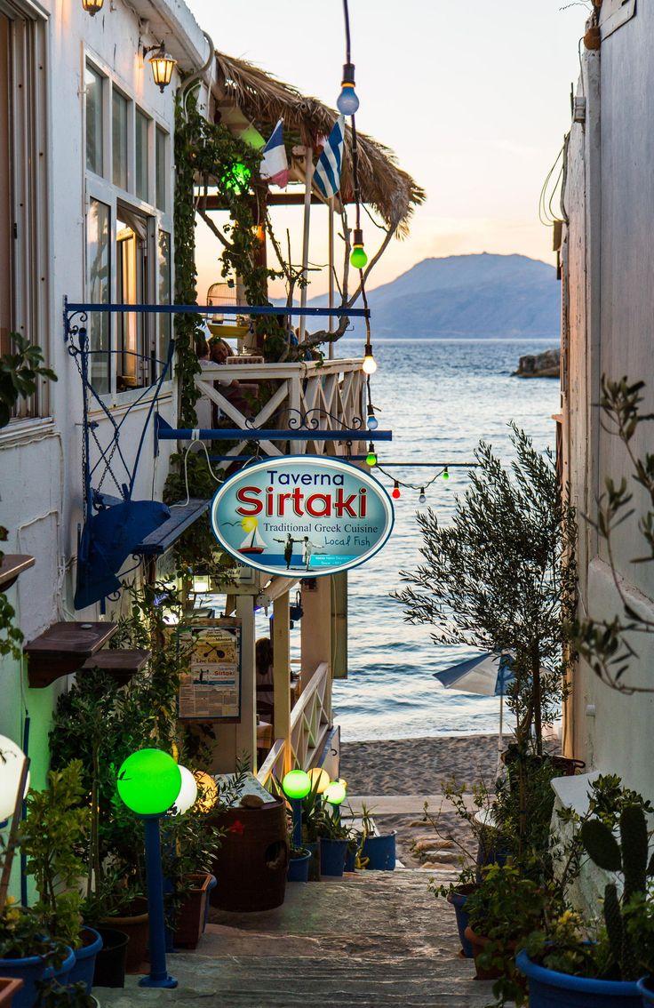 Steps to the Sea, Matala, Crete , Greece -   #famfinder
