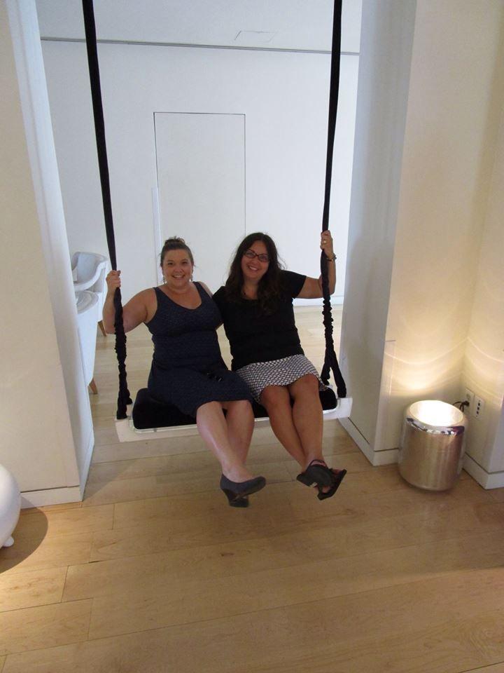 Colleen & Carmen @Mondrian_LAX #WeHo