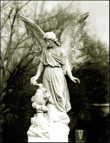 cemetery art   GUARDIAN ANGEL - CEMETERY ART #1...   Flickr - Photo Sharing!