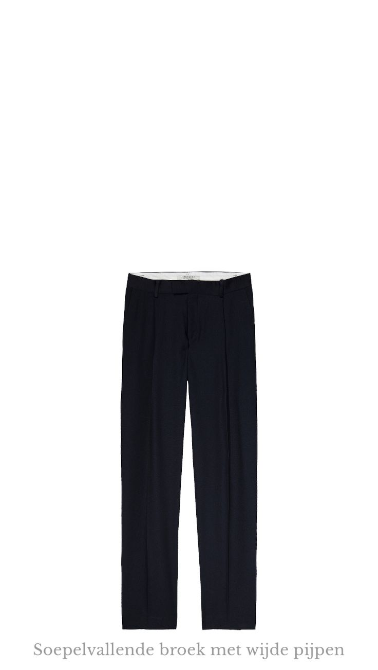 Ontdek dit product dat ik heb gevonden in de Scotch & Soda app:  Soepelvallende broek met wijde pijpen http://www.scotch-soda.com/on/demandware.store/Sites-ScotchSoda-BE-Site/nl_BE/Product-Show?pid=137023_04-4
