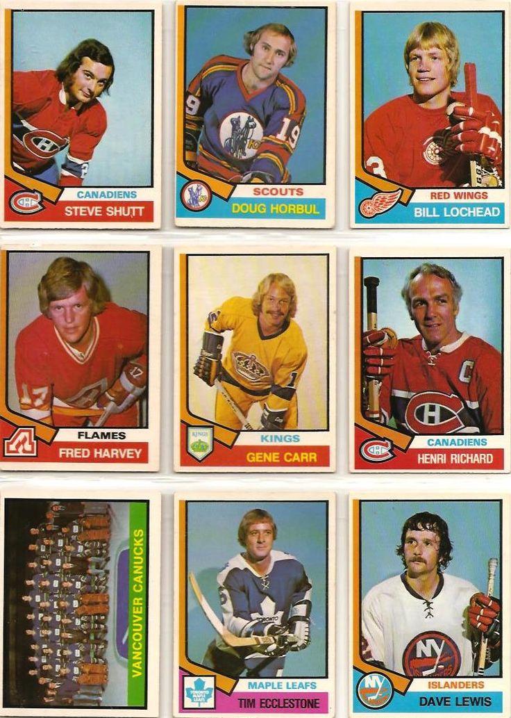316-324 Steve Shutt, Doug Horbul, Bill Lochead, Fred Harvey, Gene Carr, Henri…