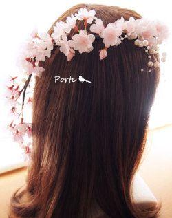 桜の花冠【造花】/ ぽると
