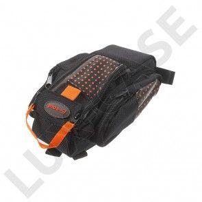 B-SOUL cykeltaske til sadlen med reflekser - Orange