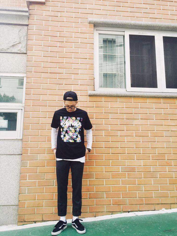 RapMonster   BTS fashion ~   Kim daily, BTS, Bts rap monster