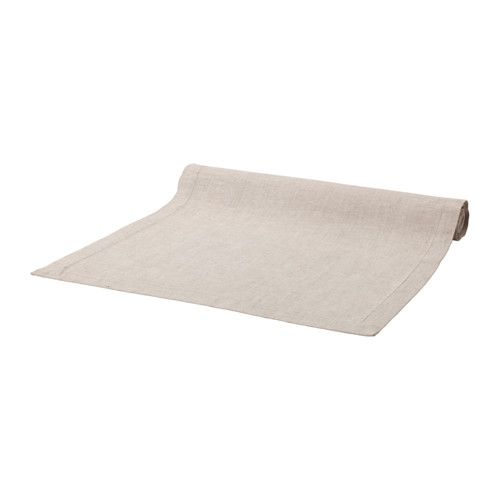 IKEA - MARKNAD, Table-runner, Cotton/linen blend with the softness of cotton and the matte luster and firmness of linen.The runner protects the table and creates a decorative table setting.