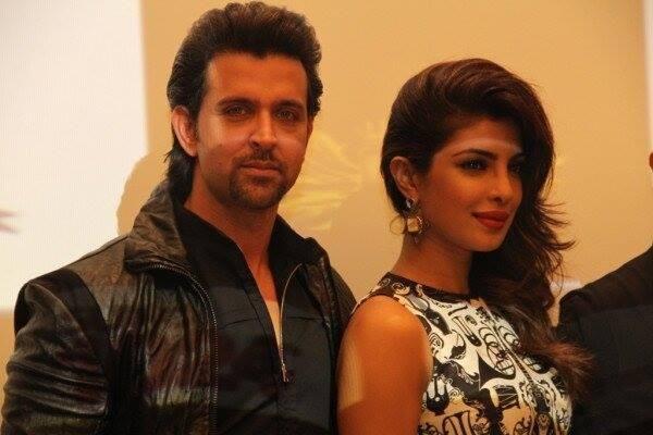 Hrithik, Priyanka, Kangana, Vivek promote Krrish 3 in Dubai