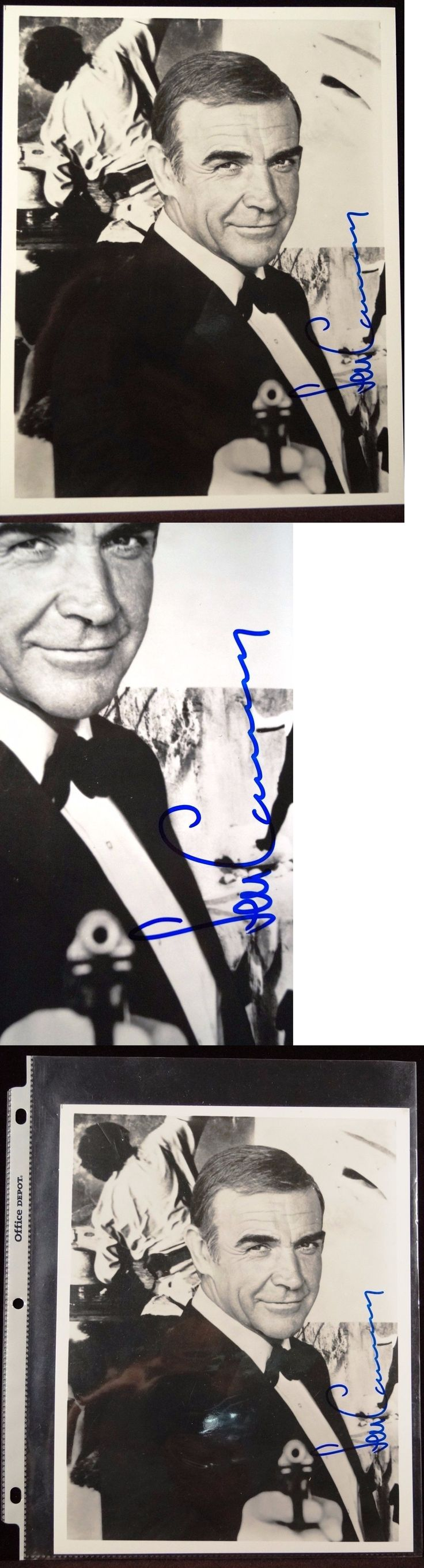 Celebrity Autographs: Sean Connery Agent 007 Autographed Signed 8 X 10 Photo Guaranteed Authentic ! -> BUY IT NOW ONLY: $9.99 on eBay!