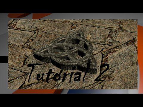 Tutorial de como crear un logo 3D en blender con curvas Beizer II - Iluminación y texturizado - YouTube
