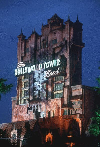 Before you even step foot in The Hollywood Tower Hotel, you'll be quaking in your Mickey Mouse ears because duh, it's like, one of the tallest rides in all of Disney. | 18 Scary Things That Make The Tower Of Terror The Best Disney Ride
